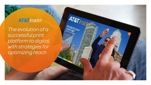 AT&T Brand Presentation by Vinney Tecchio, via Behance