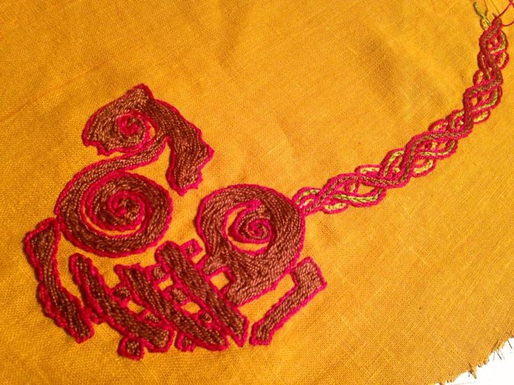 embroidery stem stitch instructions