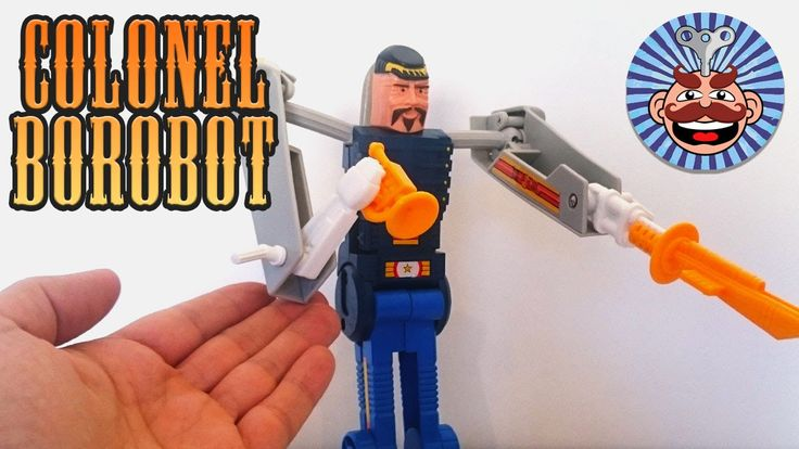 Colonel BOROBOT - BRAVESTARR - Unboxing & Review - Monsieur Toys