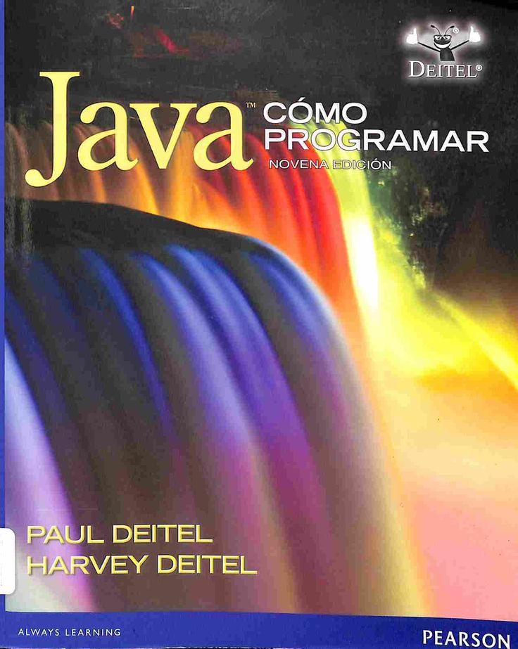 005.133 D45 2012 Este libro presenta las tecnologías de computación de vanguardia y las mejores prácticas de ingeniería de software para estudiantes, profesores y desarrolladores de software.Ofrece una introducción clara, simple, atractiva y entretenida a la programación en Java.