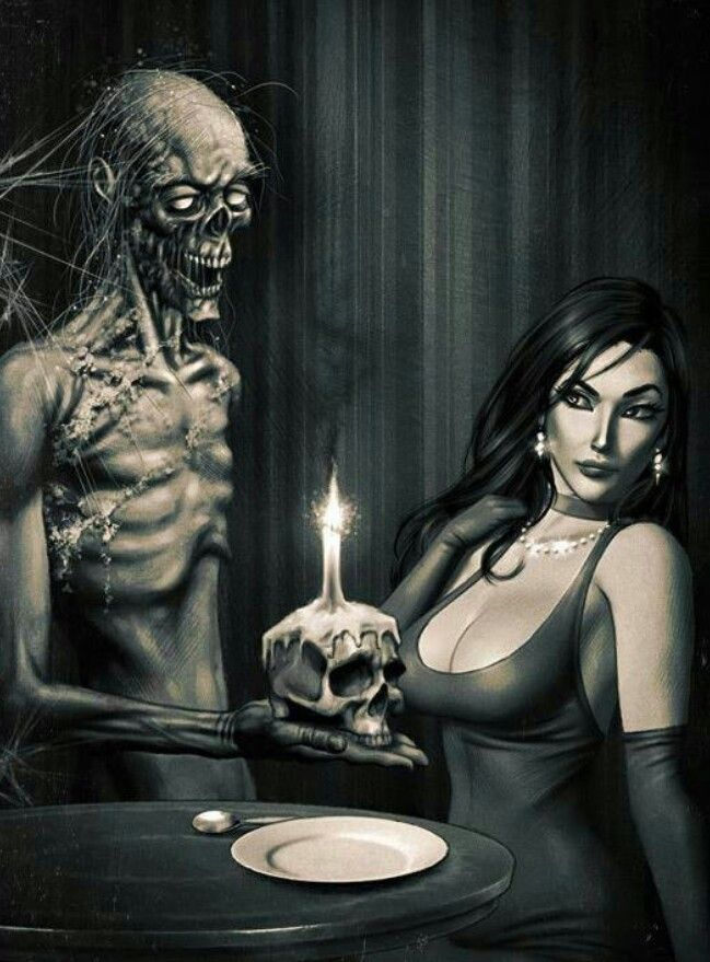 Zombie - Horror Art