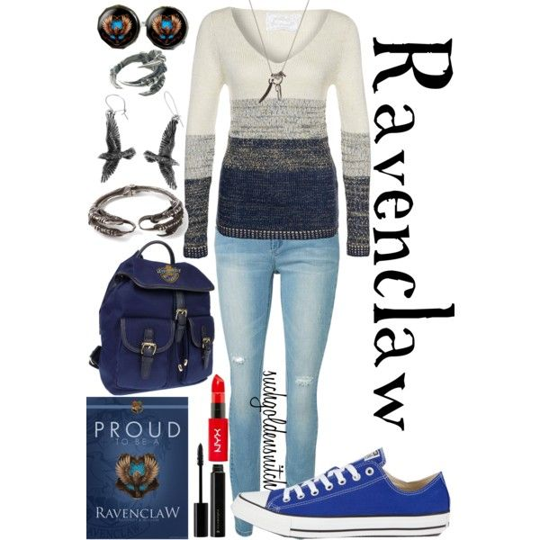 The Hogwarts House Collection: Ravenclaw by suchagoldensnitch on Polyvore