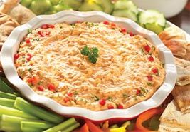 Top 10 Favorite Quick and Easy Appetizer Recipes & Ideas for Parties -  including buffalo-chicken-dip