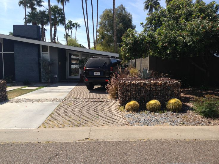#permeable driveway pavers #haver #mcm #phoenix #curbappeal