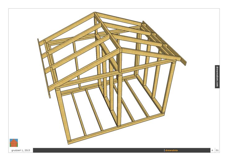projekt drewutni drewnodom.com konstrukcja