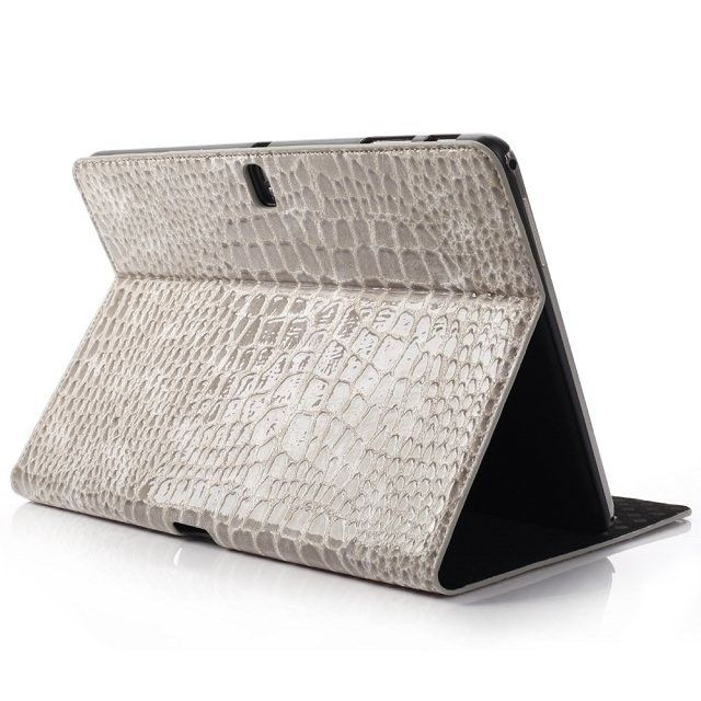 Crocodile Cover Case For Samsung Galaxy Tab Pro 10.1 T520 Skin Case For Samsung Galaxy Note 10.1 2014 Edition P600 P601 + Gift
