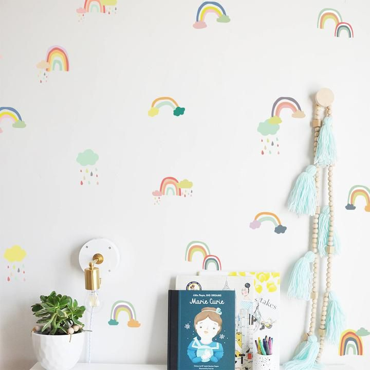 Best Rainbow Wall Stickers In 2020 Rainbow Wall Decal 400 x 300