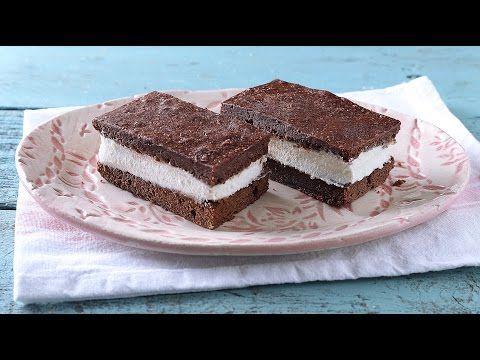 Brownie-s házi tejszelet (videó)