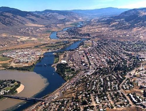 Kamloops from above