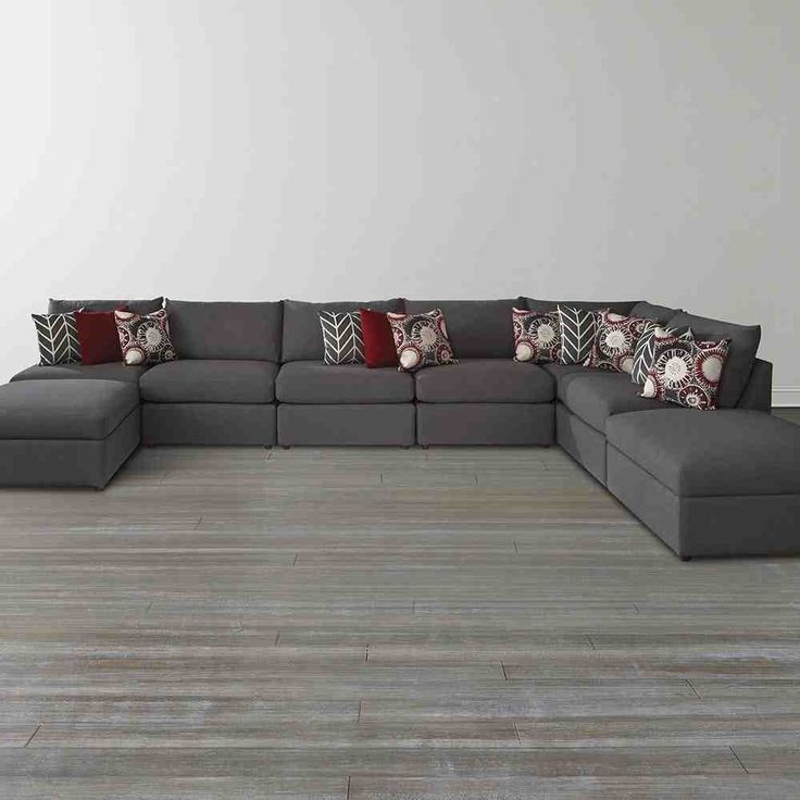 living room ideas with dark grey sofas fabrizio leather 6 piece sectional sofa u shape | l shaped pinterest shapes