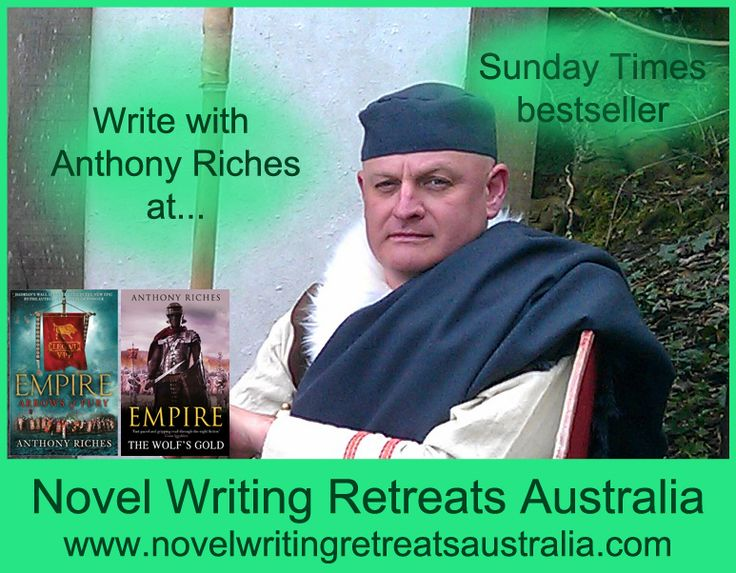 Anthony Riches is the Sunday Times bestselling author of novels set in Ancient Rome. Anthony has a degree in Military Studies from Manchester University and has worked in business systems and project management around the world for 25 years. Anthony is the Membership Officer of the Historical Writers' Association.  For more, see www.novelwritingretreatsaustralia.com.