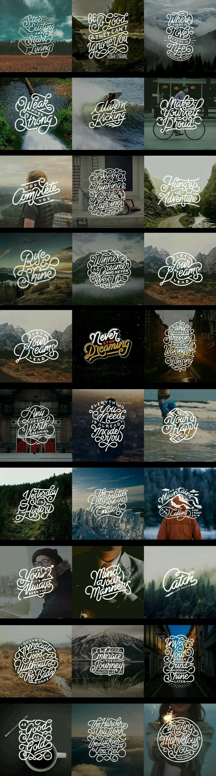 typography ideas #FredericClad #FredericClad
