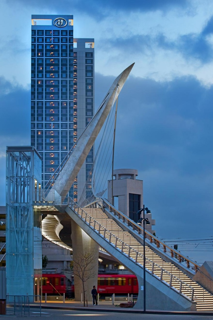Harbor Drive Pedestrian Bridge | Ponti | Pinterest ...