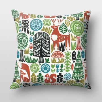 Majesty Art Color Tribal Cushion Cover