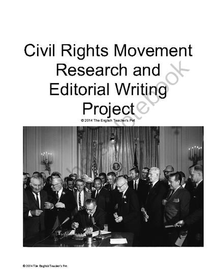 civil rights extended essay Extended essay sourcework the first case study explores the civil rights movement in the us between the civil rights act of 1964 is.