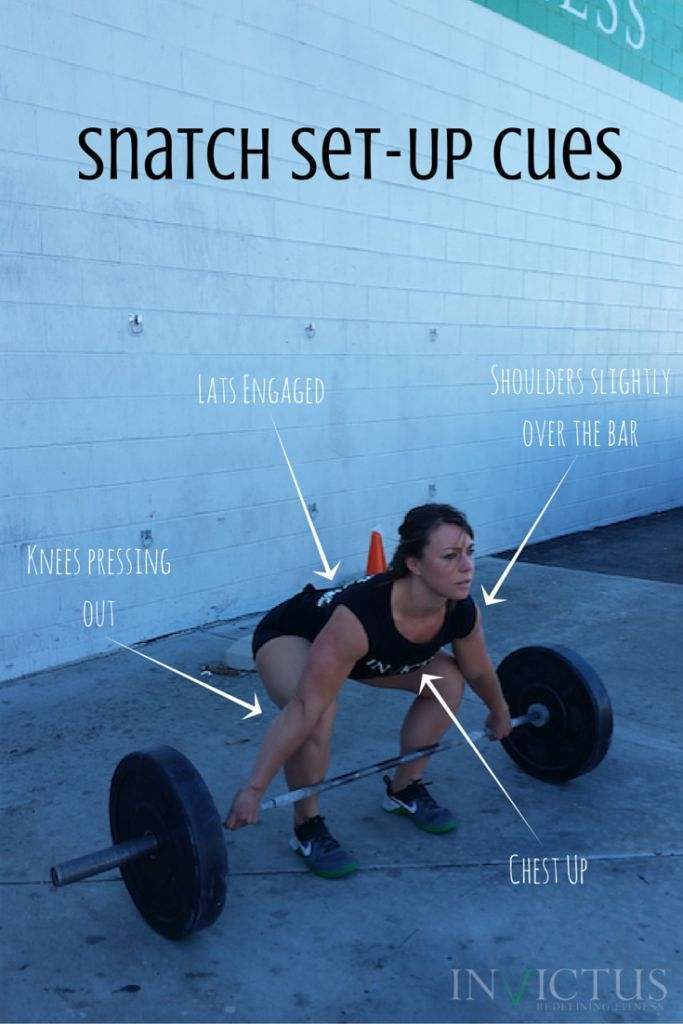 Top 4 Cues for the perfect Snatch set-up!  (CrossFit // Weightlifting) – WOD SuperStore