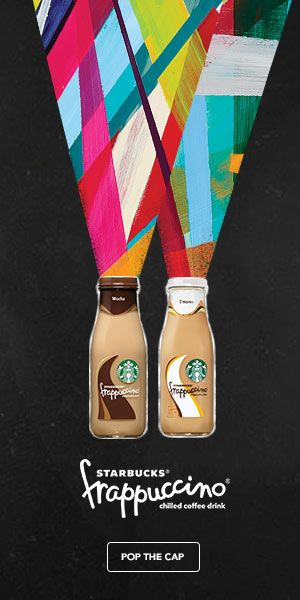 Starbuck cool graphic for advertising on the web
