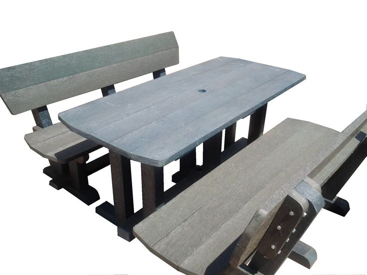 Recycled Plastic Denny Patio Sets 6 Seaters.- 8 Seaters - 12 Seaters