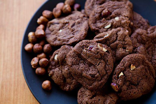 Chocolate Nutella Cookies http://www.recipes-fitness.com/chocolate-nutella-cookies/