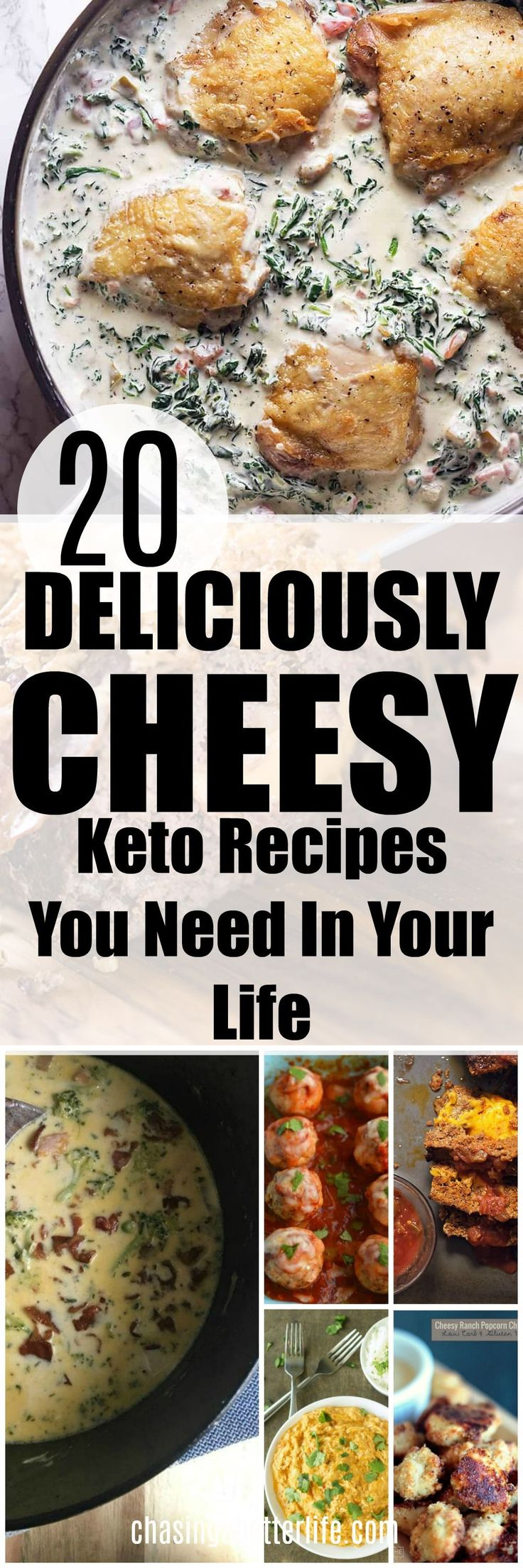20 deliciously cheesy keto recipes you need in your life #keto #ketogenic #lowcarb