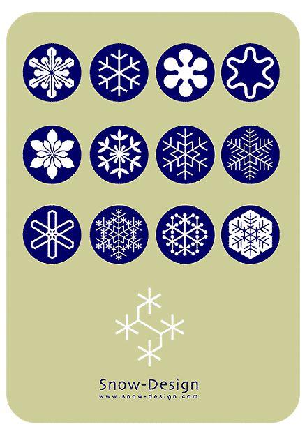 雪の結晶 デザイン デザイナー 長岡市 新潟県 スノーフレーク