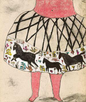 des hanches comme la tente du cirque - clothilde staes