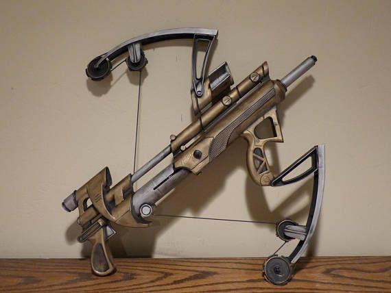 Large Steampunk Crossbow Nerf Gun Painted Ray Gun Laser