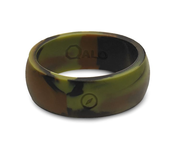 Mens Silicone Wedding Band >> Men's Camo Silicone Ring   Traditional, We and Metals