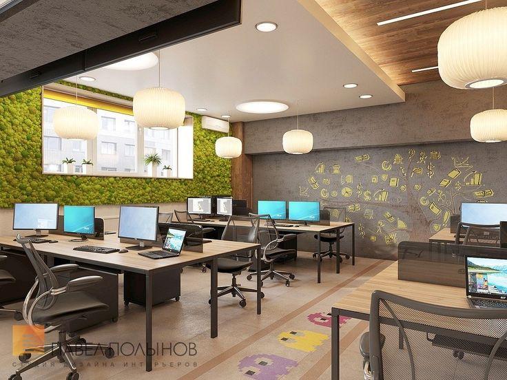 Фото: Дизайн офисного помещения - Интерьер офиса в экостиле компании BINOMO