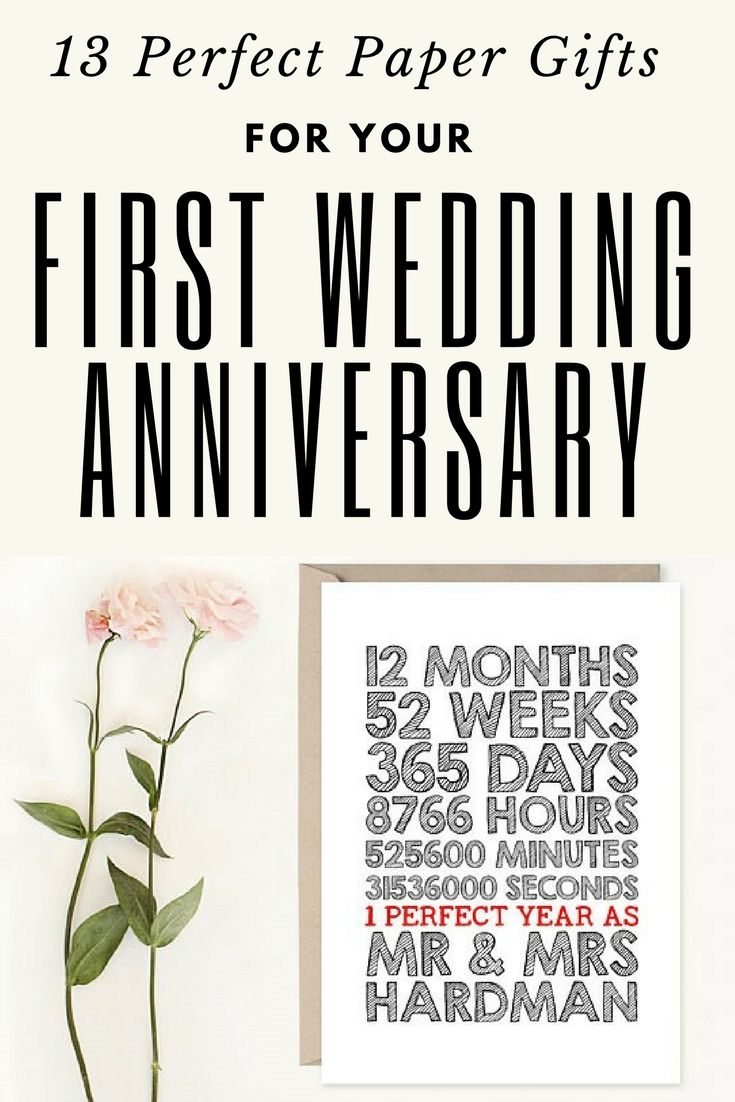 15 Paper Gifts for your First Wedding Anniversary Paper