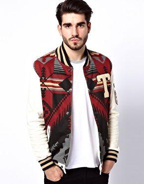 True Religion Sweat Jacket Native Fleece