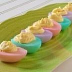 Easter deviled eggs dedewarner
