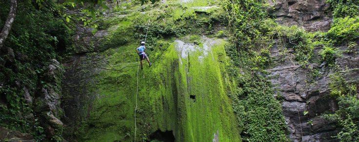 Nicaragua: San Juan Del Sur (near) Da Flying Frog Adventures and Aracne Rappelling Tour Extreme Adventure: Rapelling by waterfall and jungle zip-lining $50/person