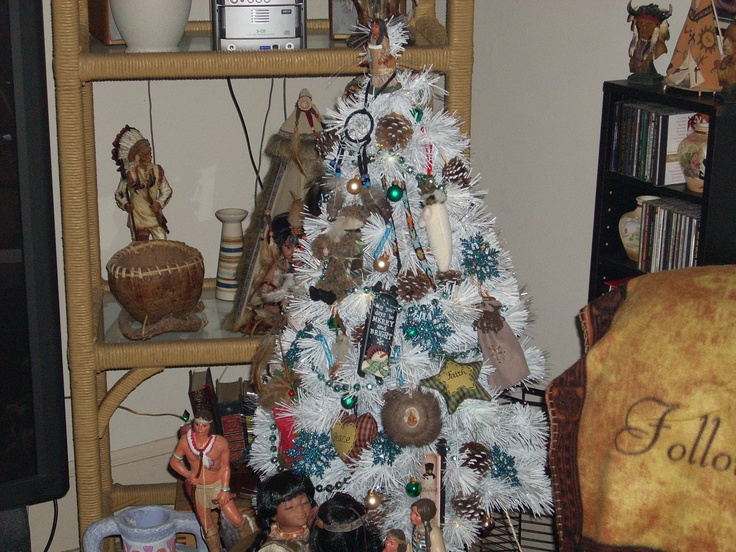 My Native American Christmas Tree