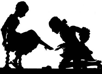 fairy tale silhouettes   Fairy Tale Scrapbook, fugaciternelle: Cinderella by Lotte Reiniger