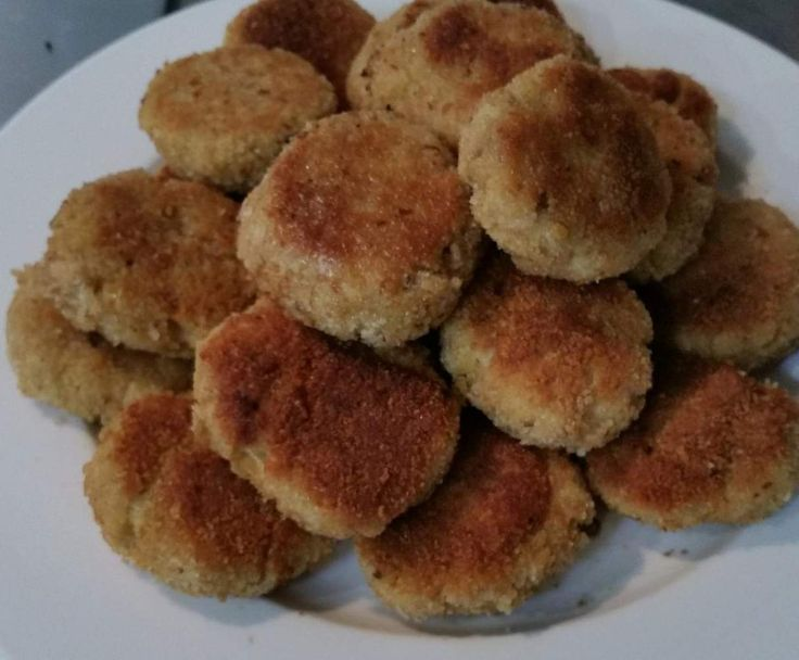 Recipe Chicken, Bacon and Quinoa Rissoles/Patties + Hidden Vege by stinimende - Recipe of category Baby food