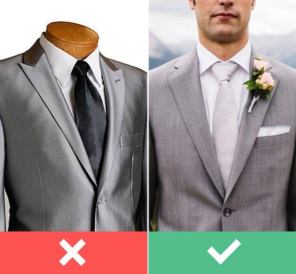 Camisa preta, tecido brilhante e gravata plastron são alguns dos itens que separamos na nossa listinha de proibidos para o traje do noivo