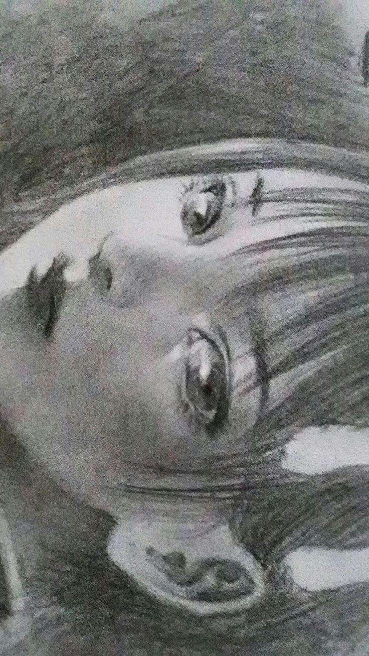 Just for fun doodling based on Hiroaki Samura work.. :) #pencil #drawing #sketch #doodle #illustration #artwork #fineart #draw #manga #girl #イラスト#スケッチ#絵#アート#portrait #art