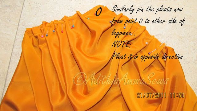 Adithis Amma Sews - Cute Confessions of a Sew Addict: Dhoti Pant or Cowl Pant Tutorial