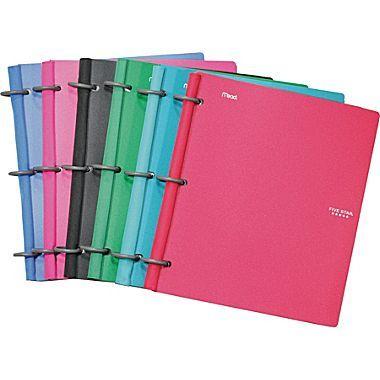 Five Star® Flex™ Notebinder, 10-1/2in. x 11-1/2in., 80 Sheets