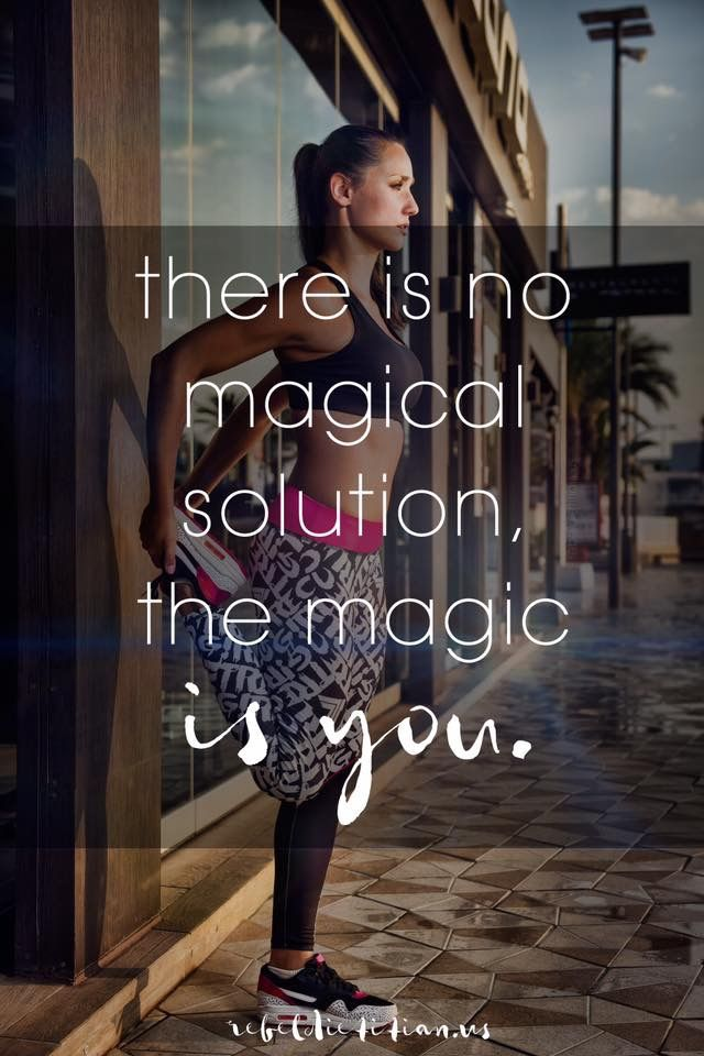 There is no magical solution, the magic is you.