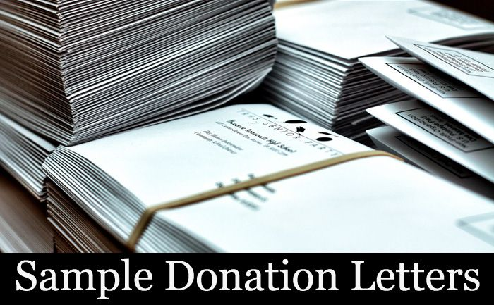 A Simple Sample Donation Letter Take A Read