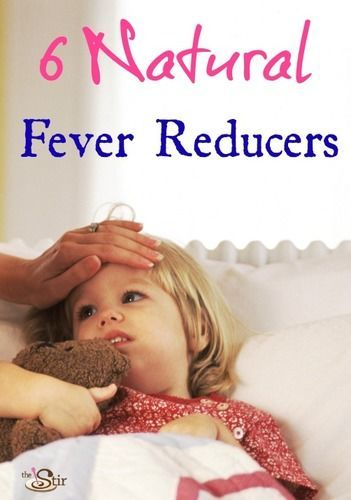 6 Natural Ways To Bring Down Your Childs Fever