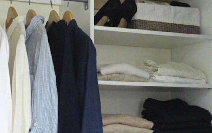 Closet Cleanout: The Only 10 Pieces Of Clothing You Need . It was time to clean out the closet, drastically and once-and-for-all. I was sick of feeling as if my clothes owned me. I know ten pieces sounds pretty draconian, but more minimal is always more peaceful.