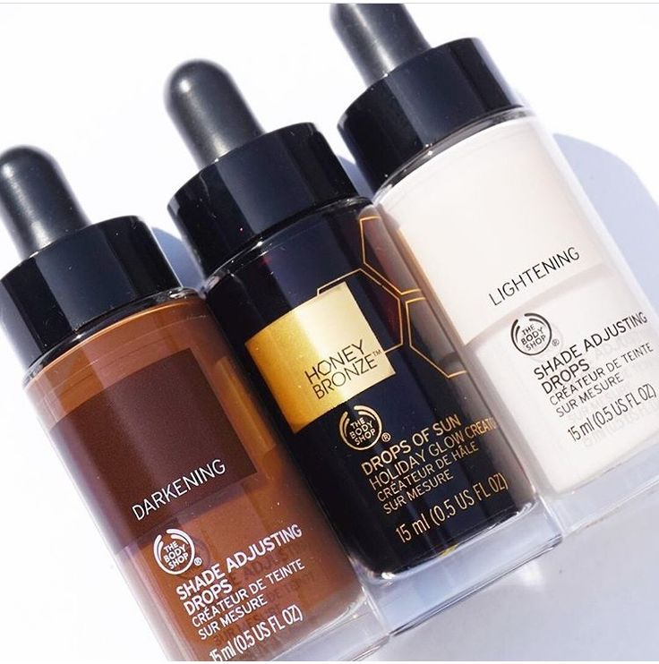 Shade Adjusting Drops!!  @The Body Shop
