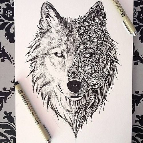 Love the idea of the spirit animal and the two designs. Gonna see how it looks with an owl.