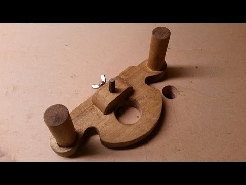 Home Made, Hand Router Plane, a must for a woodworker - YouTube