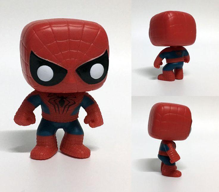 Funko pop the avengers super heroes hombre de araña de colección de vinilo bobble head figura de Spiderman 2 Modelo Niños de Juguete Muñeca encantadora nueva
