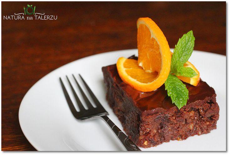Ciasto czekoladowo pomarańczowe z nutą kardamonu