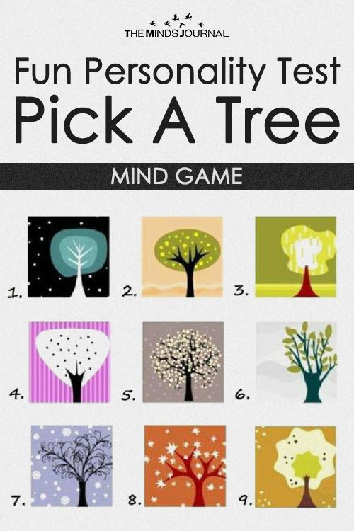 Fun Personality Test – Pick A Tree - MIND GAME | Mental